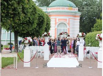 Оформление свадьбы Беллы и Владимира церемония