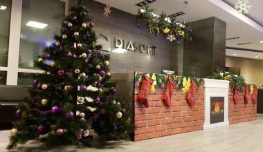 Детский новогодний праздник в Диасофт