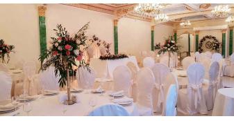 Свадьба Император холл живые цветы