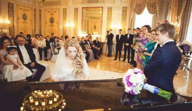 Роскошная свадьба в усадьбе Морозовка