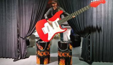 Let's Rock!  Декор рок-вечеринки