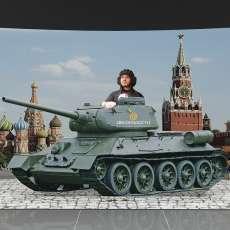 "Фотозона ""танк"""