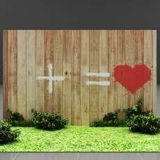 Фотозона 1+1=Любовь
